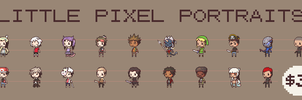Little Pixel Portraits - OPEN by coerul