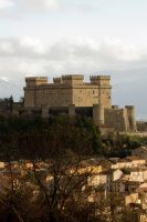Celano's castle by xvinchent