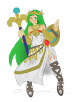 Palutena by the-Rose-of-Blue