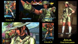 SFxT Mod: Julia - The Explorer by moedjoer