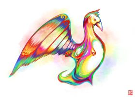 Color series 4- Bird by LUN2004