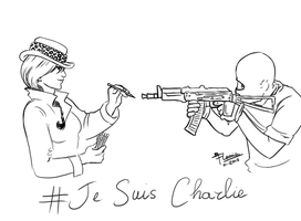 Jesuischarlie by FlamiatheDemon