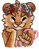 Flowercrown by Psychoticmist