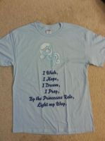 Custom Snowdrop shirt (front) by ZomibeSlayer117