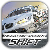 NFS Shift Game Icon by Wolfangraul