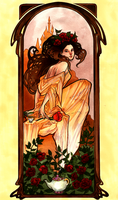 Belle Art Nouveau by cam-miyu