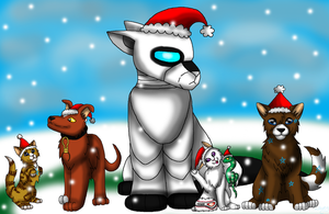 -We Wish You A Wombling Merry Christmas- by WaterPhoenixWarrior