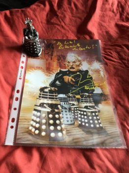 Davros autograph by boogeyboy1