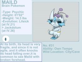 Maild fakemon by byona