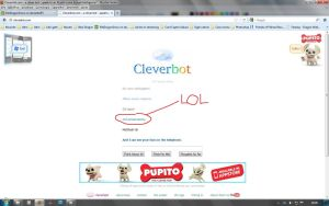 Cleverbot LOL by OmegaDemonFox