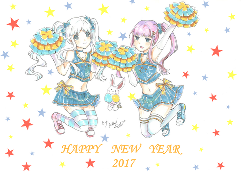 Happy New Year 2017 by Choulaphone