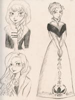 Elsa Fashion by maybelletea
