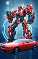 Movie Cliffjumper by Dan-the-artguy
