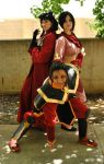 A:tLA - Ozai's Angels by PortalCosplay