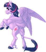 Twilight Sparkle by KittehKatBar