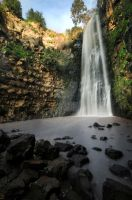Gilabon waterfall by titah