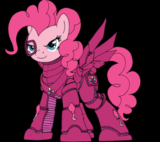 Pinkie Party Armor colored by decompressor