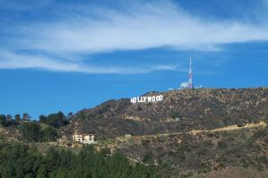 Hollywood Sign by Heidi