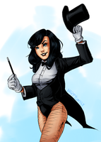 Zatanna Zatara by happysmily