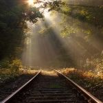Tracks to the light 2 by wienwal