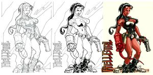 HellGirl Process by mikems71