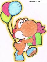 Gift giver Yoshi by Boltonartist