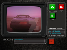 KITTs Dash Software movie Player by sicklilmonky
