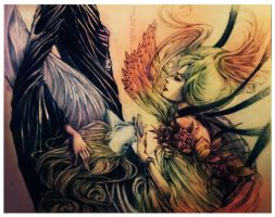 Demeter and Iason by isnukwin