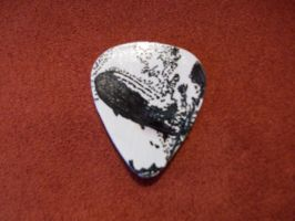 Led Zeppelin I Guitar Pick by spastic-fantastic