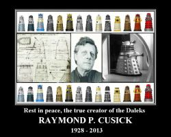Raymond P Cusick - The true creator of the Daleks by DoctorWhoOne