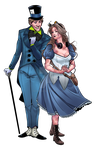 Commission: Alice and Jervis by BleedingHeartworks