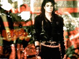 Bad MJ wallpaper by brebre890