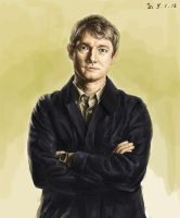 Martin Freeman (sherlock) by INA3