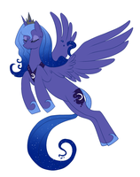 Queen Luna by lulubellct