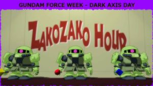Gundam Force Week - Dark Axis Day by blazeraptor