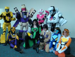 Transformers at Comic Con 2009 by Shree-Shrazz