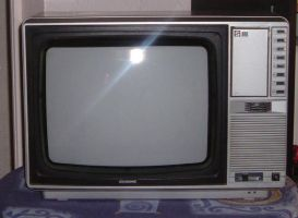 old tv by request by Helewidis-stocks