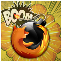 FireFox Time Bomb icon by D1m22