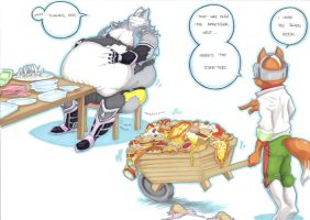 feeding time, mr wolf part 2 by prisonsuit-rabbitman