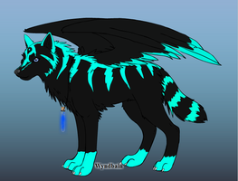Blue Spirit, alpha female of the Tribal Spiritpack by iW-O-L-F