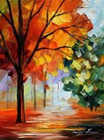 Childhood memories by Leonid Afremov by Leonidafremov