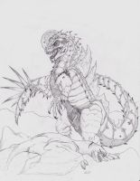 Gojira by TheMacronian