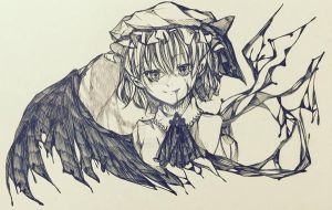 Remilia Scarlet - The Vampiric Princess by Hintko