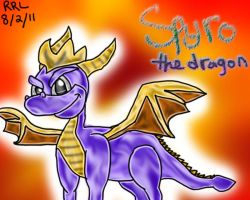 Spyro The Dragon by RockinRayus