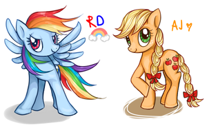 rd and aj by Milk4ppl