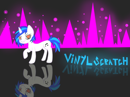 Vinyl Scratch by 3D-BITES