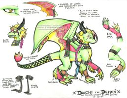 Daiichi the Demon - reference by Horus-Goddess