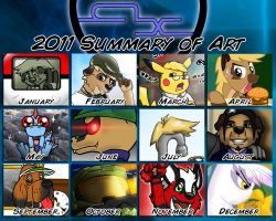 A_X's 2011 Summary of Art by Arbok-X