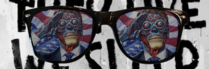 They Live Dual screen wallpaper by TomThaiTom