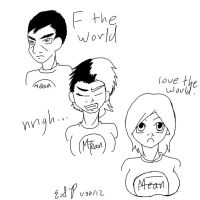 F the world tg by Sireontip